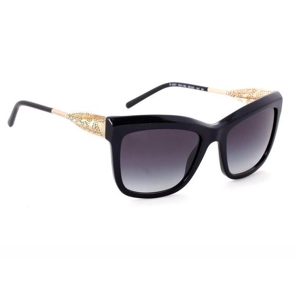 4190f80e0c Burberry Accessories - BURBERRY 4207 Gabardine LACE Sunglasses Black Gold